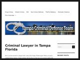 Donald C. Barrett, P.A. | Criminal defense lawyer in Tampa FL