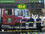 10-4 Tow of San Leandro