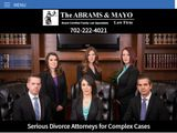 The Abrams and Mayo Law Firm | Divorce Attorneys in Las Vegas NV