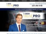 Brevard County Accident Injury Attorney