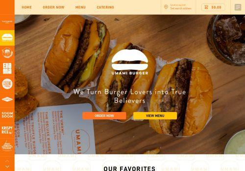 Umami Burger | Best Burger Restaurant