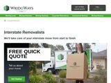 Wridgways Interstate Removalists