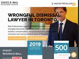 Stacey Reginald Ball | Employment Lawyer Toronto