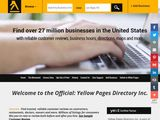 Yellow Pages Directory Inc. | Yellow Pages goes Green