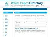 White Pages Telephone Directory